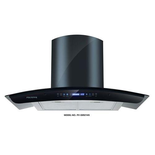 90cm Digital Kitchen Hood Tempered Glass (PV-D9021HS)