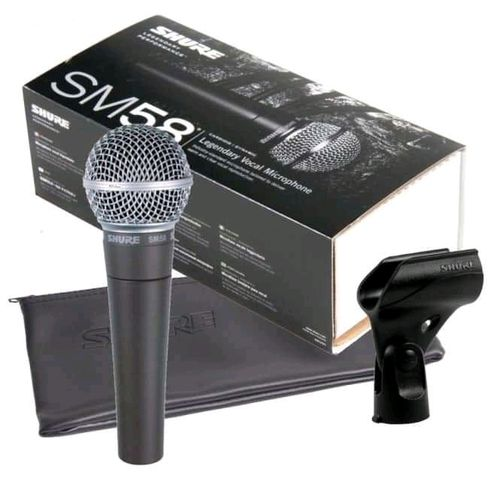 Microphone With The Holder Box