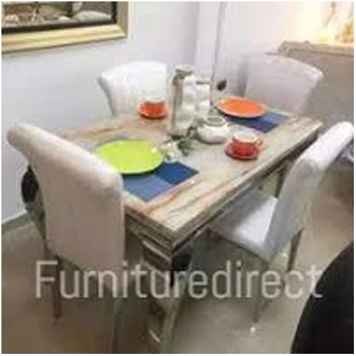 4 Seater Atlantis Marble Dinning Sets (Gift Items Included)