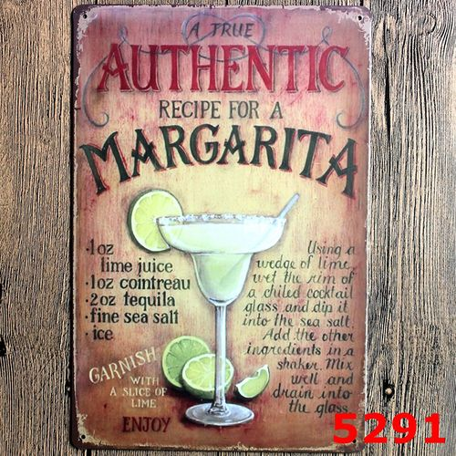 Vintage Retro Painting Tin Sign Poster Metal Plaque Rustic Club Home Bar Pub New