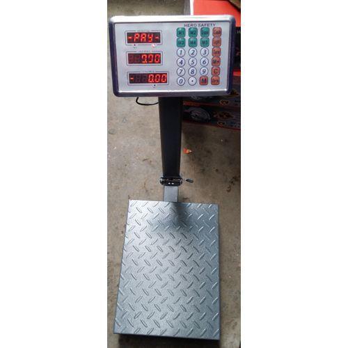 Electronic Digital Platform Scale Metal Base 100kg Big Base