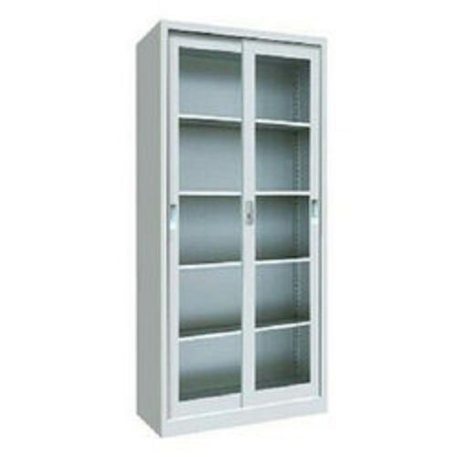 Glass Sliding Door Metal Cabinet(Lagos Delivery Only)