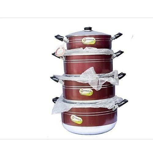 Ultimate 4 Pieces Set Of Non-stick Cooking Pot Cookware