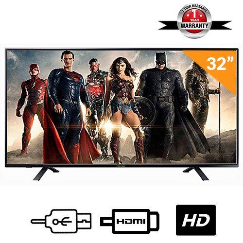 32-Inch Super HD LED TV- Black