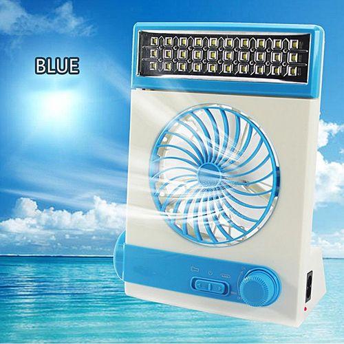 Solar Tent Fan LED Light Lamp Outdoor Camp Travel USB AC110-240V 2000mAH