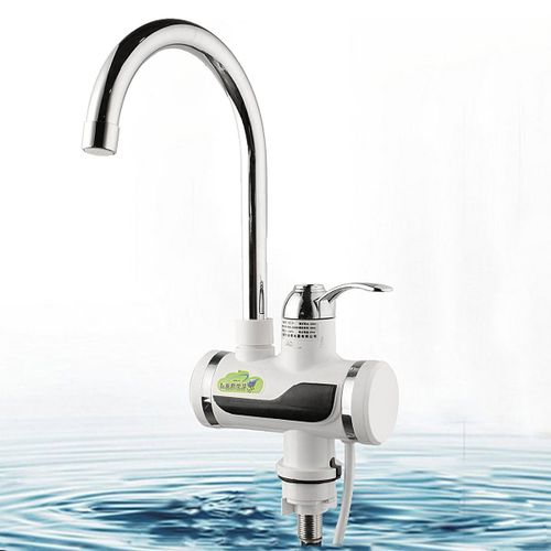 LED Digital Display Instant Heating Electric Water Heater Faucet Tap Kitchen