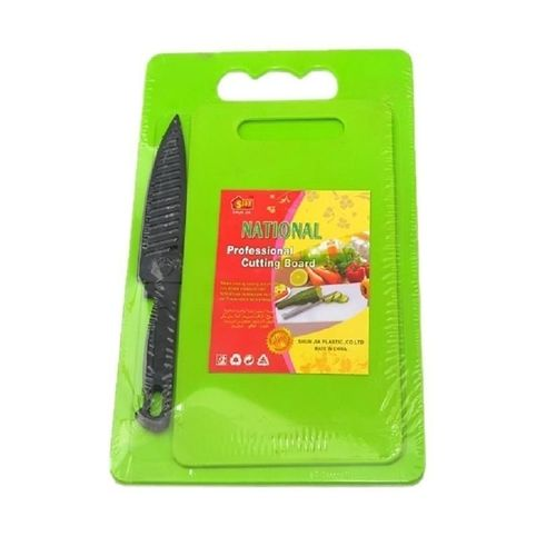 Chopping Board 2 Set With Knife