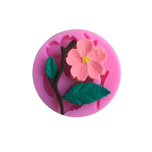 Silicone Peach Blossom Cake Decorating Tool Baking Molds