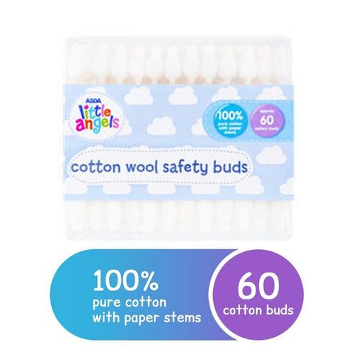 Little Angels Cotton Buds With Ear Drum Protection ( UK)