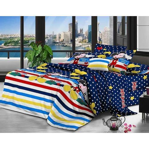 Mickey Cartoon Bedsheets -2 Pillow Cases