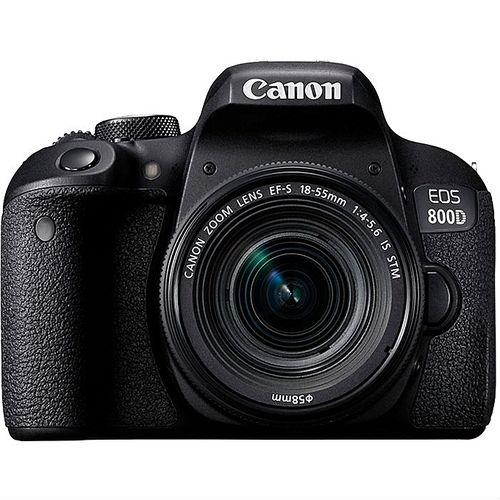 EOS 800D DSLR Camera With EF-S 18-55mm F/4-5.6 IS STM Lens - Black