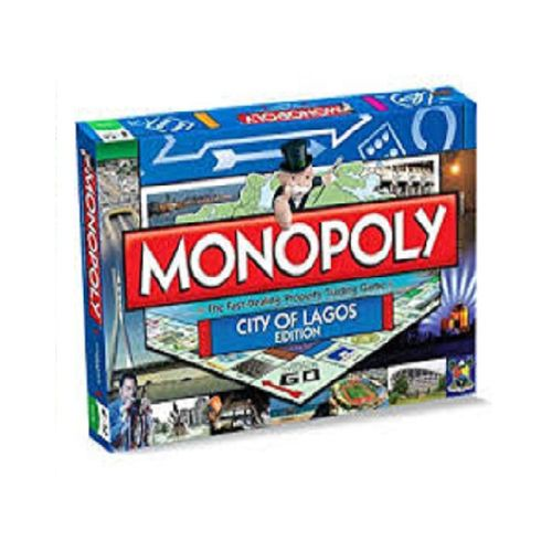 City Of Lagos Monopoly Board Game