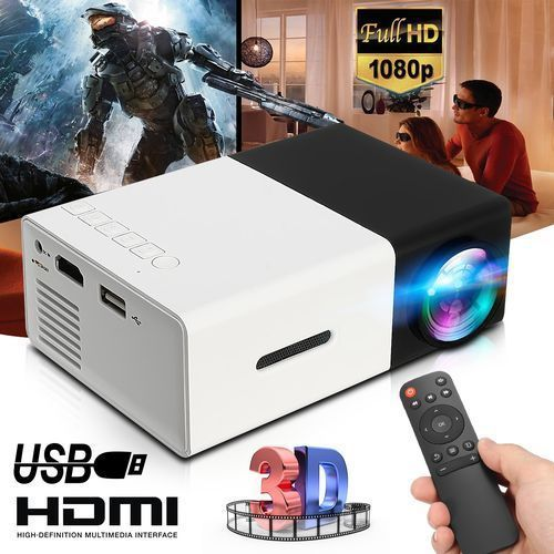 Portable Mini LED Projector 1080P HD Home Theater