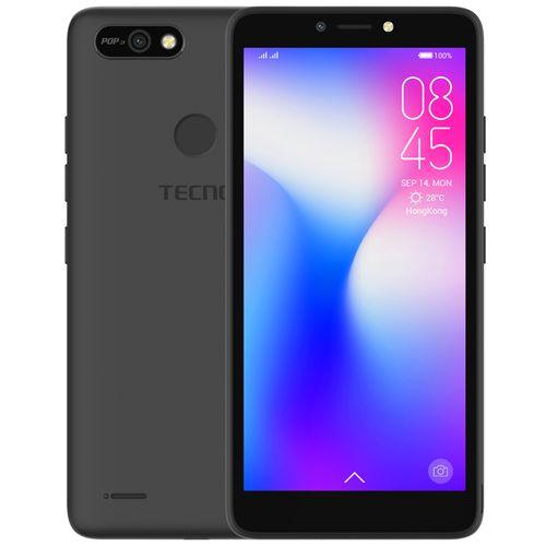 "POP 2F (B1F) 5.5"" Android 8.1, 16GB ROM + 1GB RAM, 8+5MP Beauty Camera, Fingerprint, Face ID, 2400mAh Battery - Black"