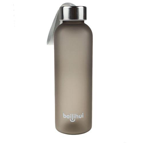 Equivalentt New Leak Tight Fruit Juice Sport Portable Travel Bottle Water Cup 600ML BK
