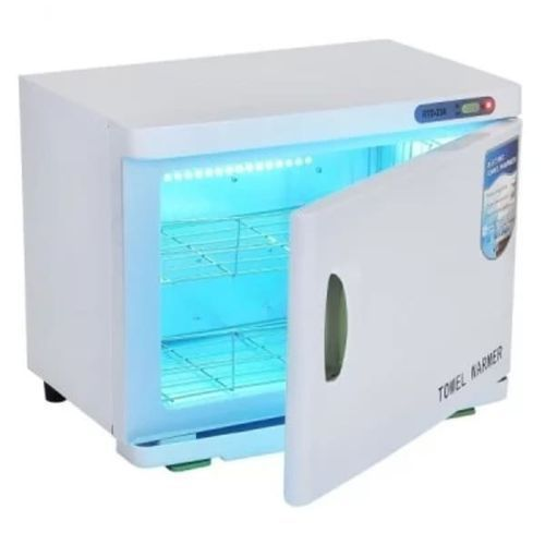 23L Towel Warmer UV Sterilizer - White)