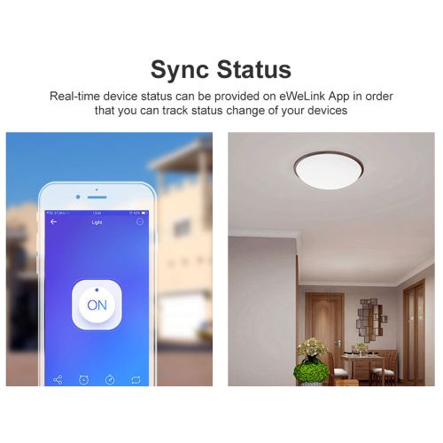 3pcs SONOFF? BASIC R3 10A 2200W Smart ON/OFF WiFi Switch Light Timer Support APP/LAN/Voice Remote Control DIY Mode Works With Alexa Google Home
