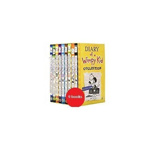 Dairy Of Wimpy Kids Series ( 9 Books)