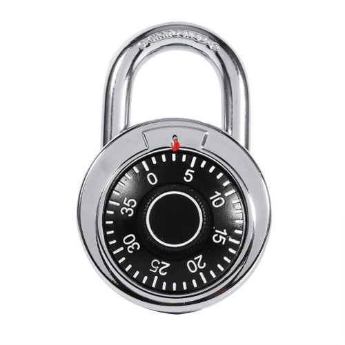 Rotary Padlock Digit Combination Code Lock - Intl