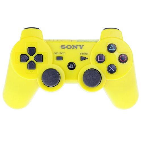 The Ps3 Pad Yellow