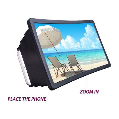 Generic Mobile Phone Screen Magnifier/ Visual Enlargement 3D
