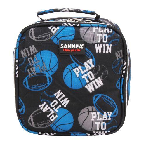 Fashion Functional Insulated Lunch Box Bag Picnic Zip Pack Waterproof Storage Handbag