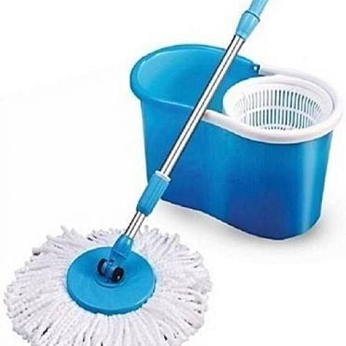 Extendable Mopping Stick With Bucket