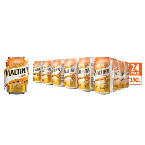 Non Alcoholic Malt Drink - 33cl Can X 24 Pack