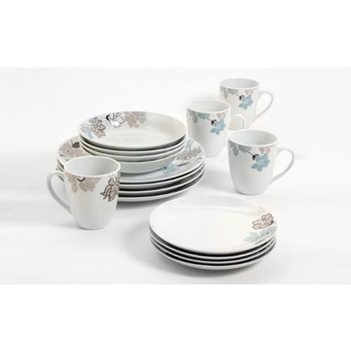 Ceramics Dinner Set - 16 Pieces Multicolour