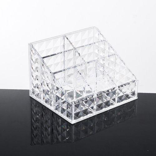 Dual Layer Cotton Swabs Organizer Pads Holder Cosmetic Storage Box