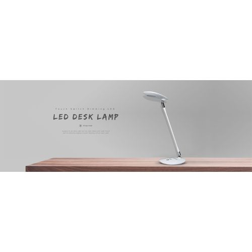 GUANYA 7W LED Desk Lamp LED Eye Care Table Light Lamp Touch Switch Stepless Dimming Student Reading Office