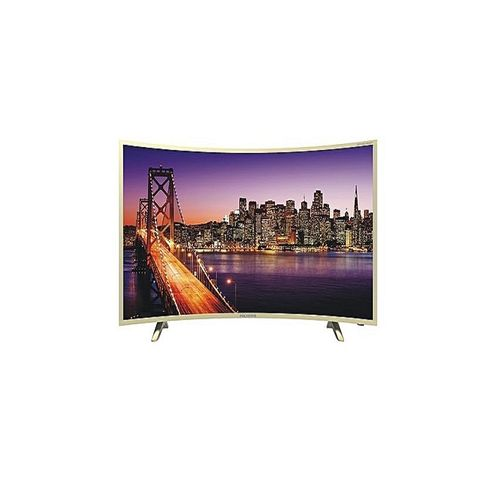 """43"""" Inch HD Ready Android Smart Curve TV."""