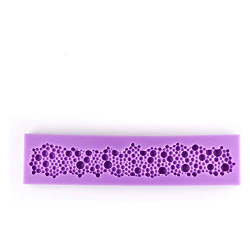 Silicone Cake Decorating Pearl Flower Pattern Mould