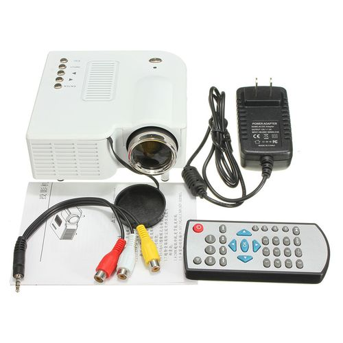 Mini 1080P HD LED Projector Portable Home Theater Cinema HDMI VGA USB SD AV US