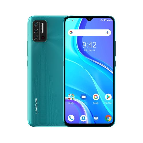 A7S, 2GB+32GB, Face Identification, 6.53 Inch Android 10, Network: 4G, OTG(Green)