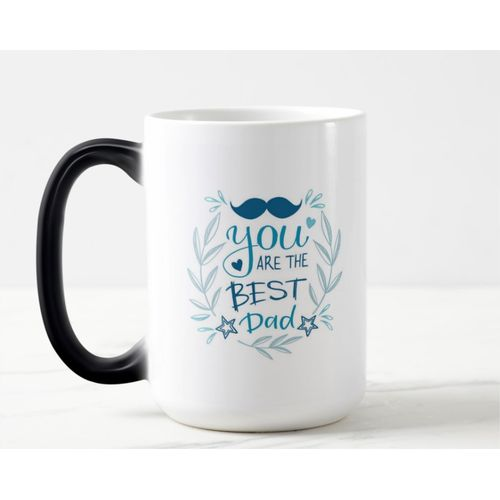 Color Changing Magic Mug - Best Dad