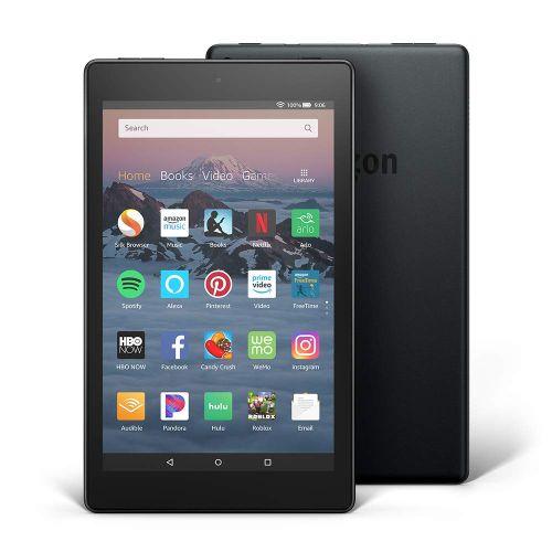 """Kindle Fire HD 8 Tablet (8"""" HD Display, 32GB ROM) - Black"""