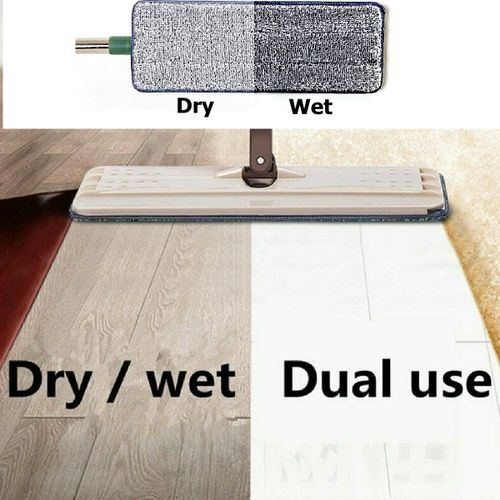 2pcs Reusable Mop Microfiber Pad Practical Household Dust Cleaning Microfiber Pad For Spray Mop Flat Squeeze Automatic Mop