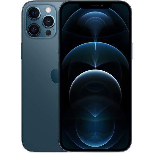 IPhone 12 Pro Max - 128GB, 6GB RAM, 6.7-Inch,(12MP+12MP+12MP) - Pacific Blue