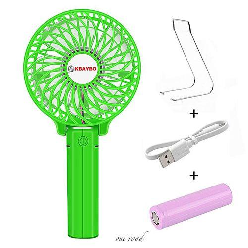 Hand Fans Battery Operated Rechargeable Handheld Mini Fan Electric Personal Fans Hand Bar Desktop Fan