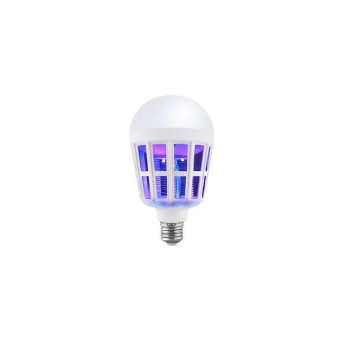 15w Rechargeable Mosquito Killing LED Bulb. Screw Base