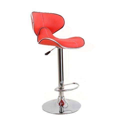 Modern Swivel Bar Stool - Red