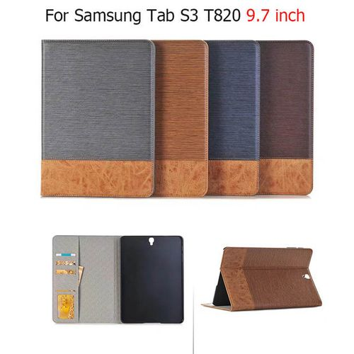 Jeans Wallet Leather Smart Case For Samsung Galaxy S3-Multi