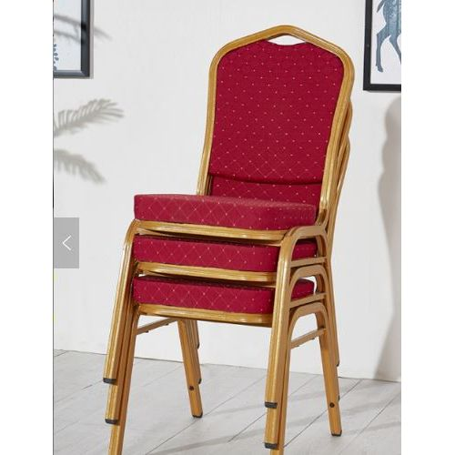 Banquet Chair Red (set Of 3)