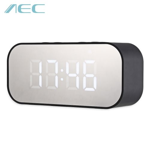 Portable Alarm Clock Wireless Bluetooth Stereo Speaker