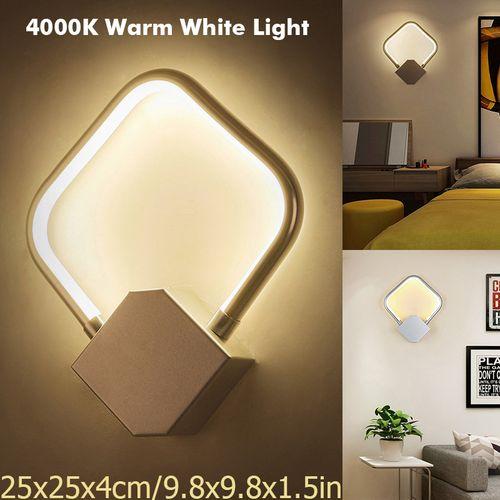 4000K Aluminum Wall Lamp Sconce LED Night Light Lamp