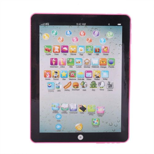 Kids Tablet Pad Electronic Preschool English Learning Toy