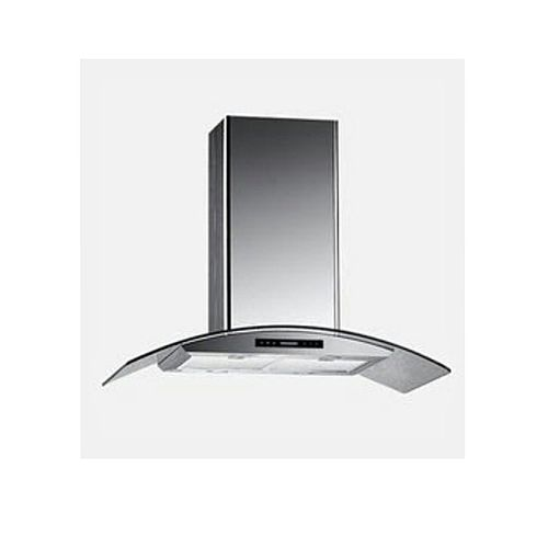 Glass Canopy 90cm Hood(heat/smoke) Extractor, Pipeless System (Charcoal System)..No Breaking Of Wall GS904