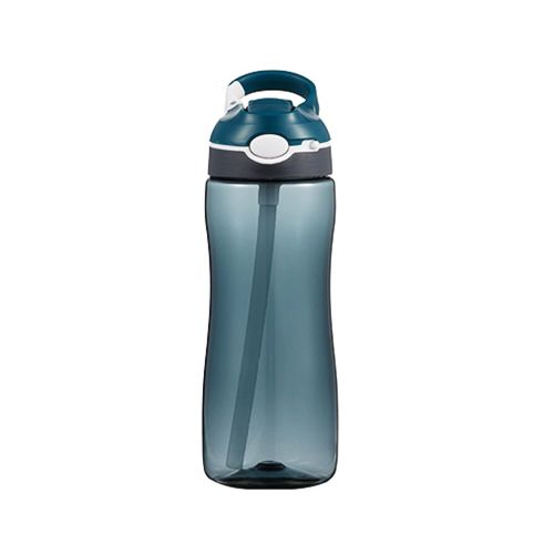 Water Bottle With Straw Portable Sports Water Cup 580ml For