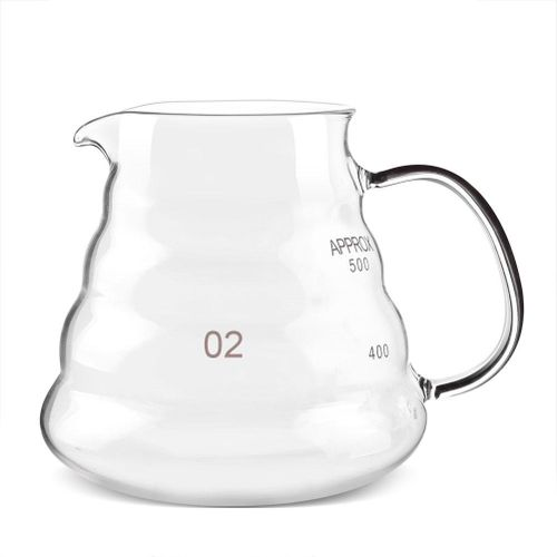 600ml Thickened Glass Heat Resist Coffee & Tea Drip Pot Kettle Bar Accessory